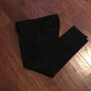 Express Columnist Ankle Pants Size 4 Black